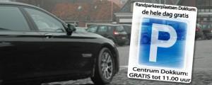 Parkeren in Dokkum blijft gratis tot 11 uur en buiten Bolwerken