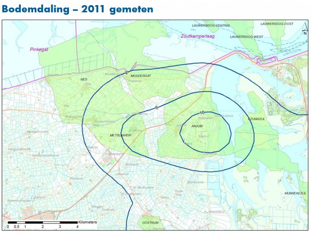 NAM_bodemdaling_2011