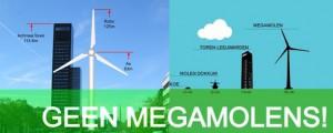 Verzet tegen windturbineplannen bij Rinsumageest