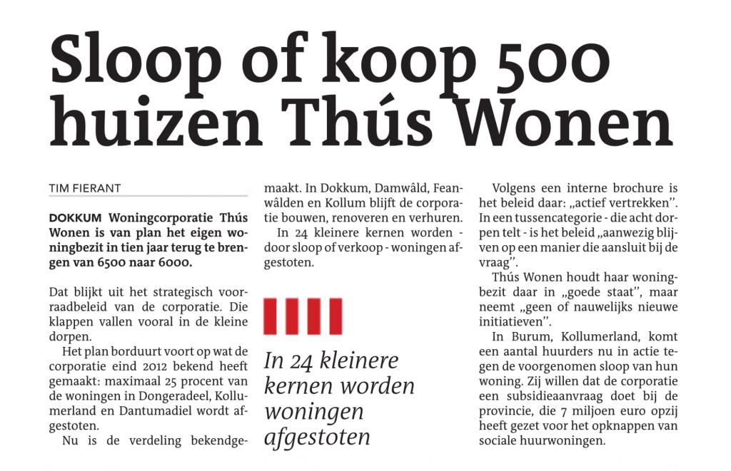 Sloop of koop 500 huizen Thus Wonen_LC12nov14