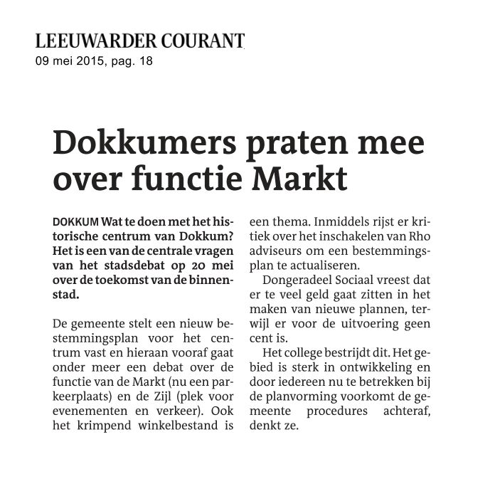 Dokkumers praten mee over functie Markt_LC-20150509