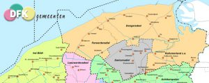 Dongeradeel Sociaal vóór herindeling met Kollumerland en Ferwerderadiel