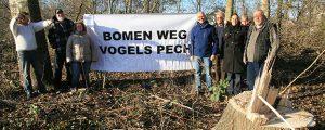 Dongeradeel Sociaal in actie tegen bomenkap