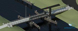 Hoe veilig wordt de nieuwe fietsbrug over het Grootdiep?