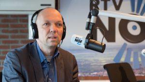 Jouke Douwe de Vries te gast bij RTV NOF