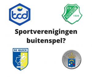 Staan de sportverenigingen in Dokkum buitenspel?