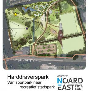 S!N positief over plan Harddraverspark, maar tegen een extra brug